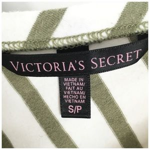 Victoria's Secret Tops - Victoria's Secret Olive Green Low Back Ballet Tee